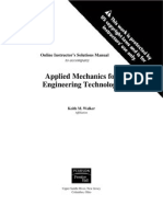 Applied Mechanics Solutions)