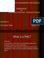 Multinational Corporations