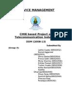 Service Management Project