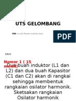 UTS GELOMBANG 096