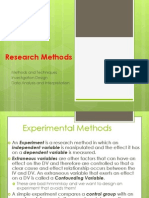 Everything About Research Methods