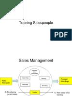 Training Salespeople