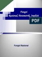 Fungsi Rasional Parametrik Implisit1