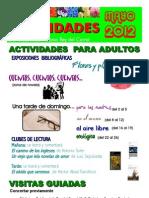 Actividades Mayo 2012 Cartel