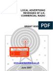 'Local Advertising Revenues Of UK Commercial Radio' by Grant Goddard