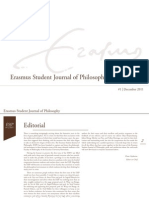 Erasmus Student Journal of Philosophy #1 (December 2011)