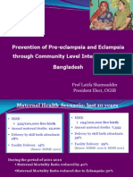 Shamsuddin_Prevention of PE E Including Community Level Intervention in Bangladesh