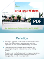 Baharuddin_Respectful Care at Birth