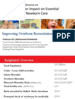Shahidullah_Improving Newborn Resuscitation in Bangladesh