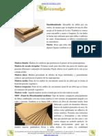 Glosario Carpinteria Letras M N O y P