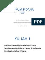 Hukum Pidana Senin_ 4 April 2011
