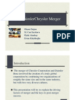 DaimlerChryslerMerger