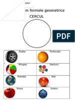 Sa Invatam Formele- Cercul