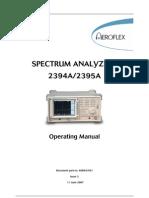 2394A 2395A Operating Manual