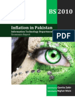 Inflation in Pakistan Economics Report