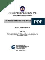 BMM3101 BMM3101 Pengajian Sukatan Pelajaran Bahasa Melayu