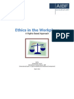 Ethics in Work Place
