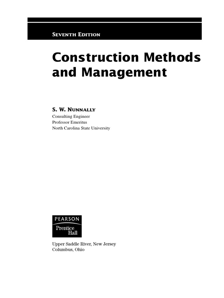 Construction methods and management construction management construction methods and management construction management building code fandeluxe Images