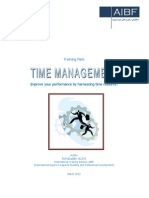 Time Management Training Pack