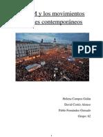 El 15M y los movimientos sociales contemporáneos