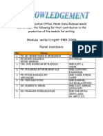 PMR Revised Writing Module 2