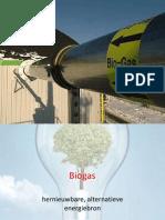 Biogas Als Hernieuwbare Alternatieve Energiebron