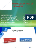 Hambatan Penegakan Ham Di Indonesia