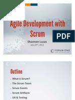 Agile Development With Scrum