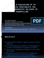 Design & Evaluation of pH Sensitive Mini Tablets For