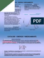 CATALISIS-ENERGÍA Y MEDIOAMIENTE para CLASE