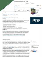 Compilación de material para el first certificate (FCE) - Taringa!