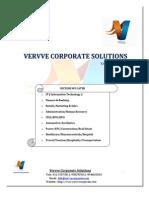 Recruitment Proposal-Vervve Corporate Solutions