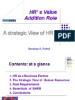 HRÆ s  Value Addition Role