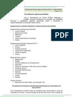 POP Desinfecção Bacteriológica de Reservatórios de água potável - GLOBAL 2012