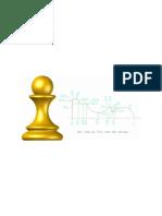Peça de Xadrez para Torno CNC - Peão