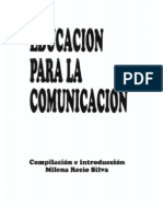 Educación para la comunicación1