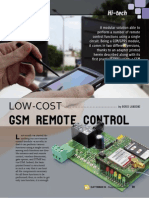 GSM Remote Gate Opener