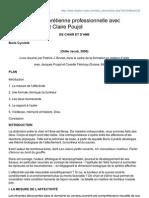 Résumé Du Livre De Boris Cyrulnik - De Chair Et D'Ame
