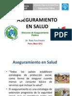 Aseguramiento en Salud - Puno - Serums 2012
