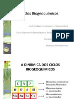 Ciclos biogeoquímicos. PDF