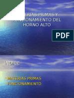14705443 Materias Primas y Funcionamiento Del Horno Alto