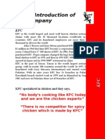 KFC New Product Plan