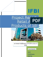 SBI Retail Asset Project Report