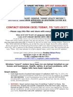 SCE Opt-out Flier CEP