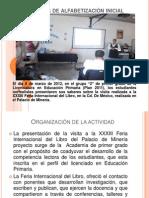 Presentacion Feria Libro Grupo Dos
