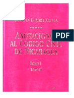 Comentarios Codigo Civil de Nicaragua Libro i y II