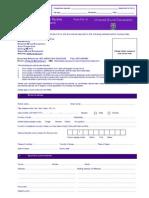 Application Form for Postgraduate Programmes