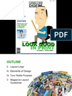 Magazine Layout by Randy Torrecampo
