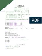 Illustration of Gauss Seidel Iteration Lab
