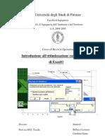 Introduzione All'Ottimizzazione Con Il Risolutore Di Excel